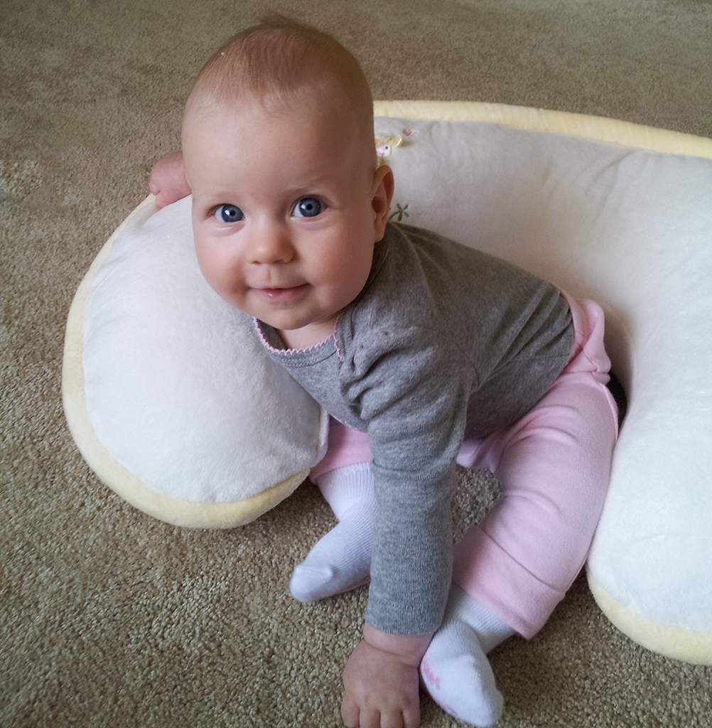 Using Boppy Pillow